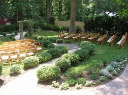 Backyard Wedding Decoration Ideas