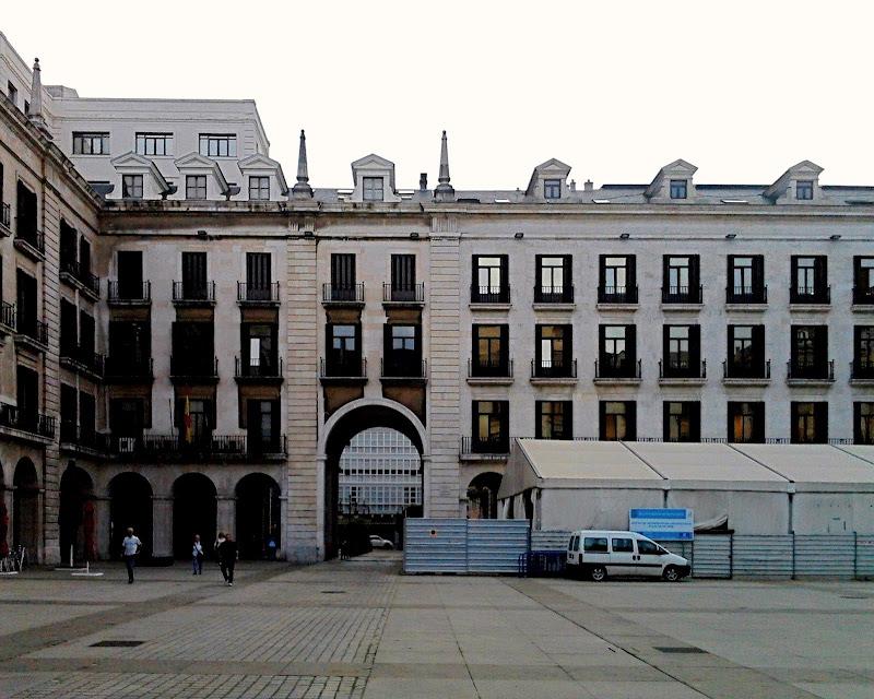 Plaza Porticada en Santander