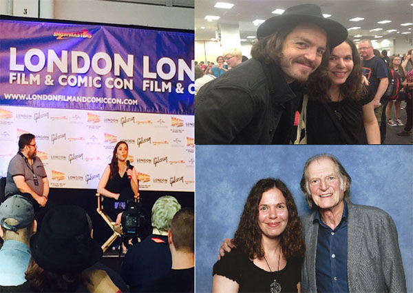 Fotos de la London Film & Comic Con 2015