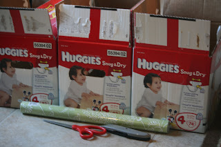 Dahoney Designs Diy Tutorial 1 Diaper Box Upcycle