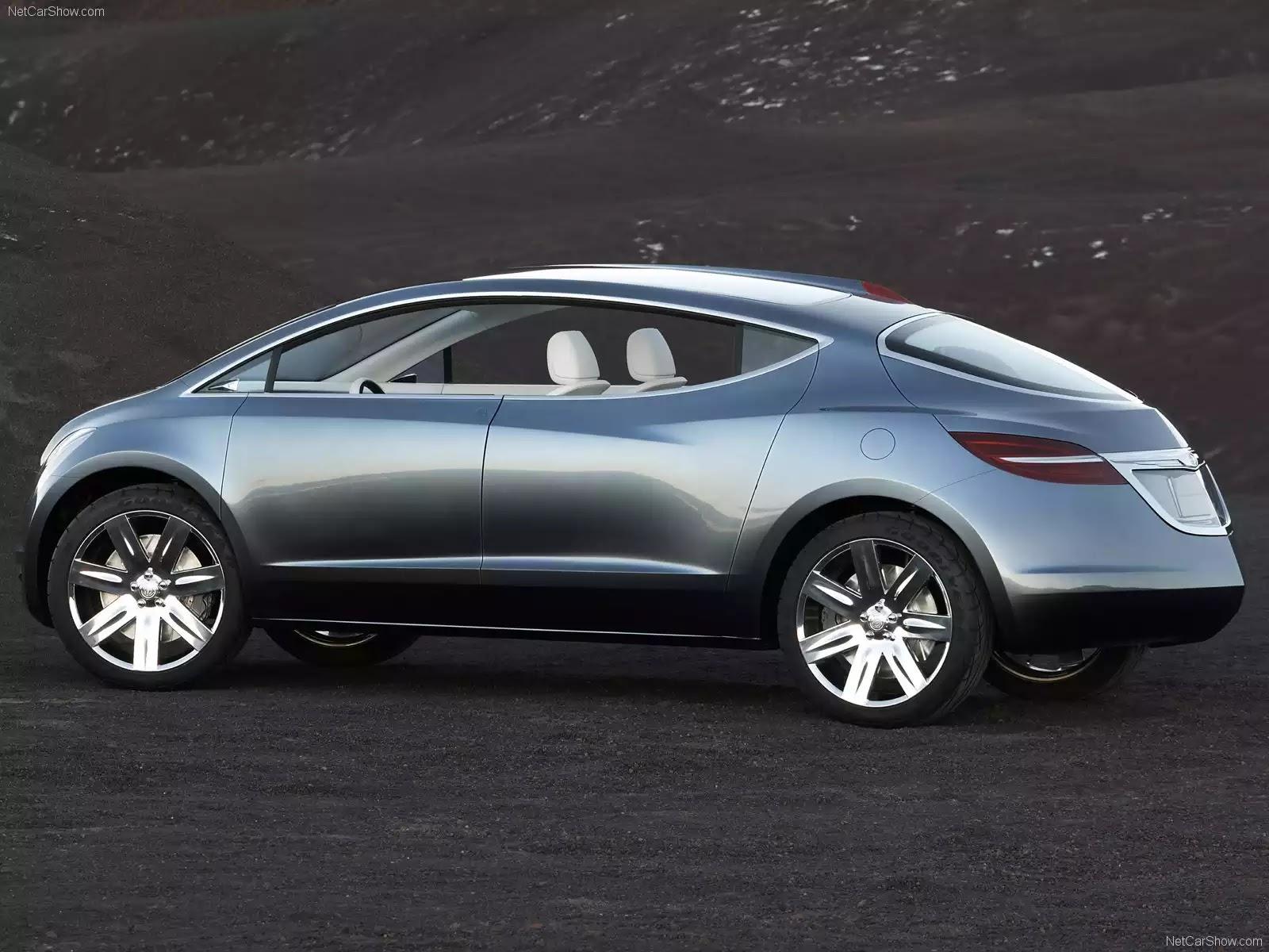 Hình ảnh xe ô tô Chrysler ecoVoyager Concept 2008 & nội ngoại thất