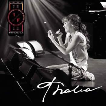 portada de thalia Primera Fila album Primera Fila cover album disco Primera Fila thalia
