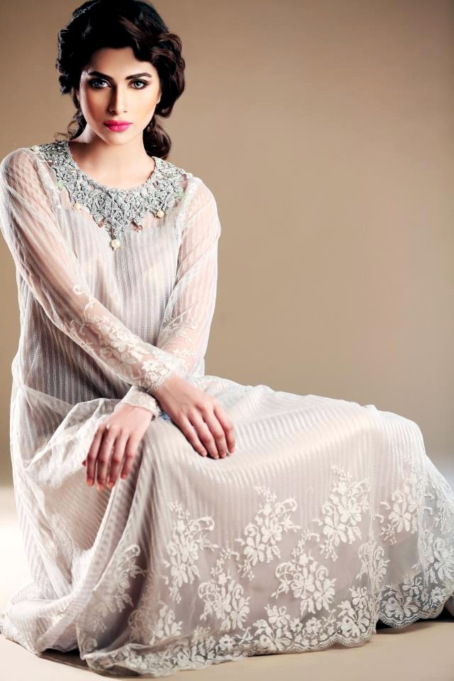 Sameen Kasuri Formal Collection 2013 Formal Dresses For Winter