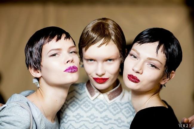 Dior Haute Couture 2013 backstage