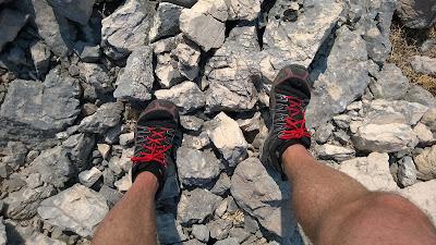 Inov Trailoc 255 bieganie kamienie chorwacja