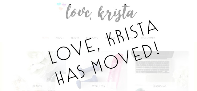 love krista has moved new blog domain blogger to wordpress goodbye