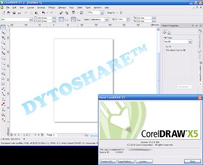 Download Corel Draw X5 Portable Zaidanshare
