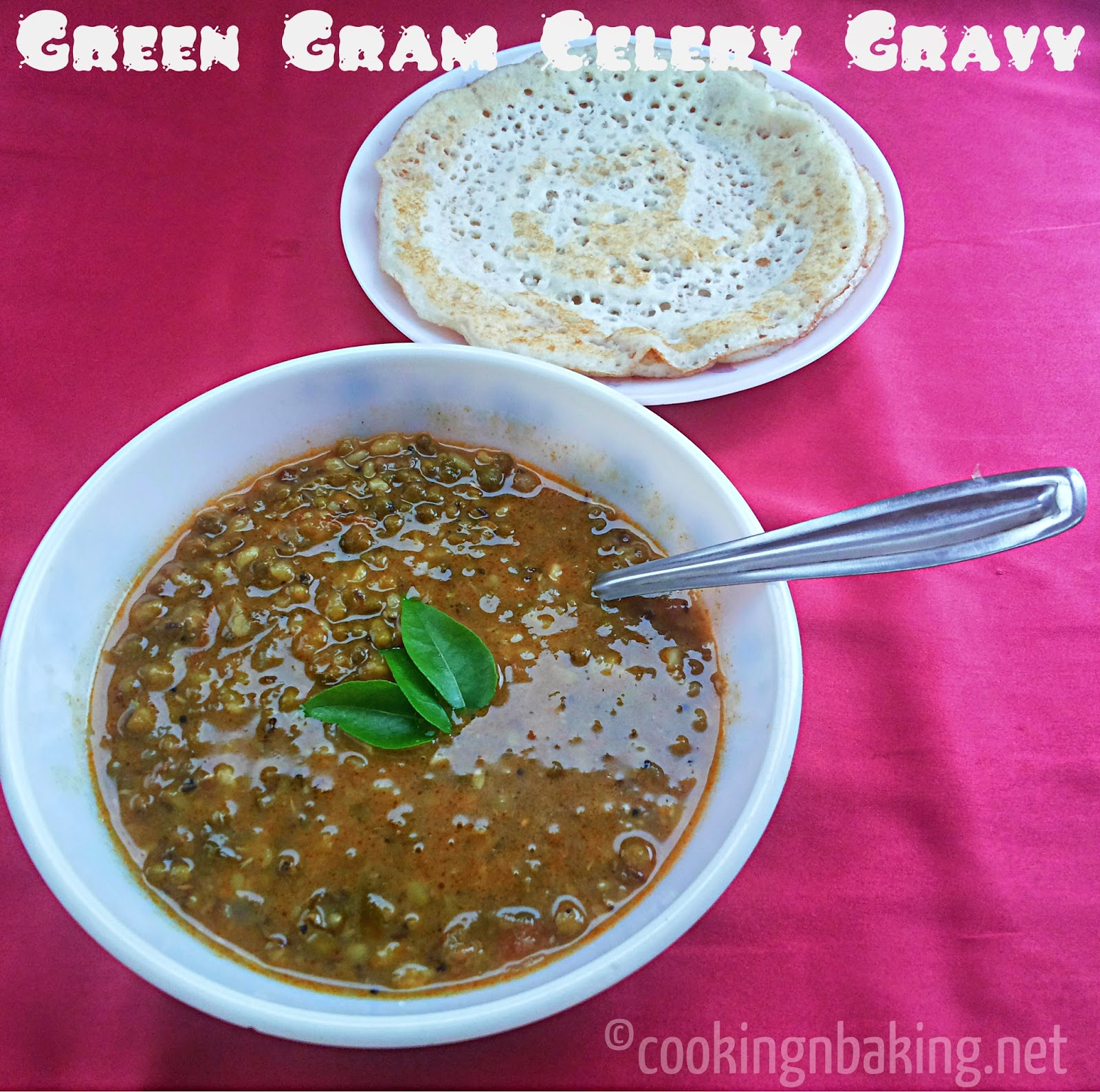 Green Gram Celery Gravy
