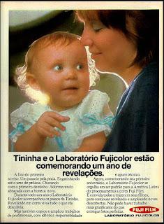 Fuji Film, anos 70.  1974. década de 70. os anos 70; propaganda na década de 70; Brazil in the 70s, história anos 70; Oswaldo Hernandez;