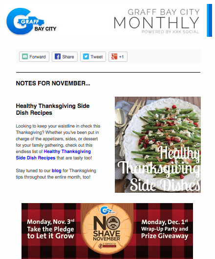 Graff Bay City November Newsletter