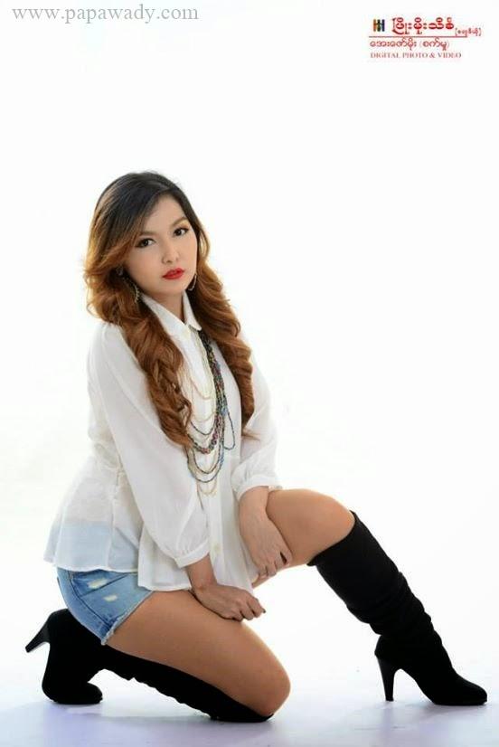Yadanar My - Myanmar Singer Photoshoot
