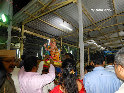 Ganpati Visarjan in Mumbai