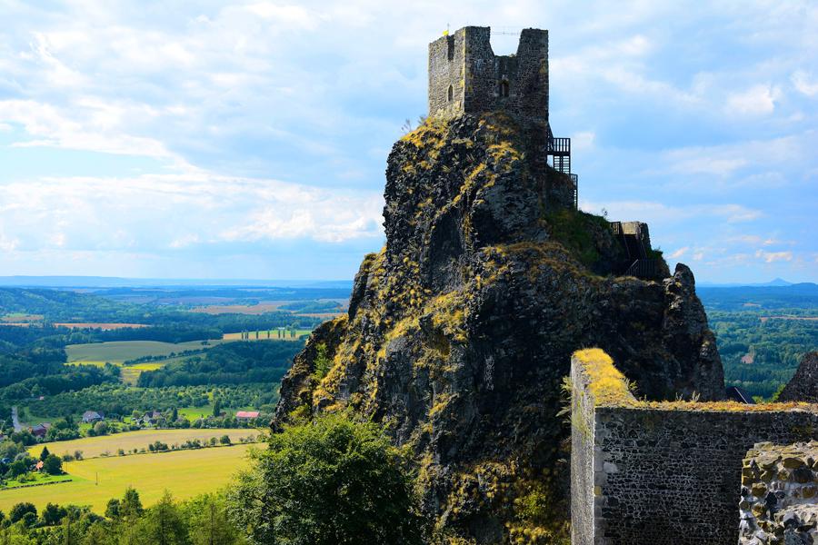 zamek trosky_czechy
