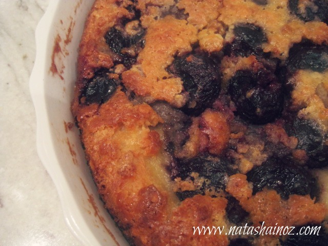 Say G'Day Linky Party {43} ~ Cherry Clafoutis Recipe Natasha in Oz