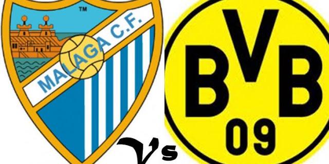 Malaga vs Borussia Dortmund vivo