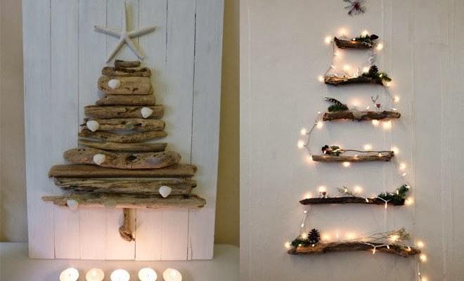 Decorando y renovando arboles de navidad originales y - Arboles de navidad diferentes ...