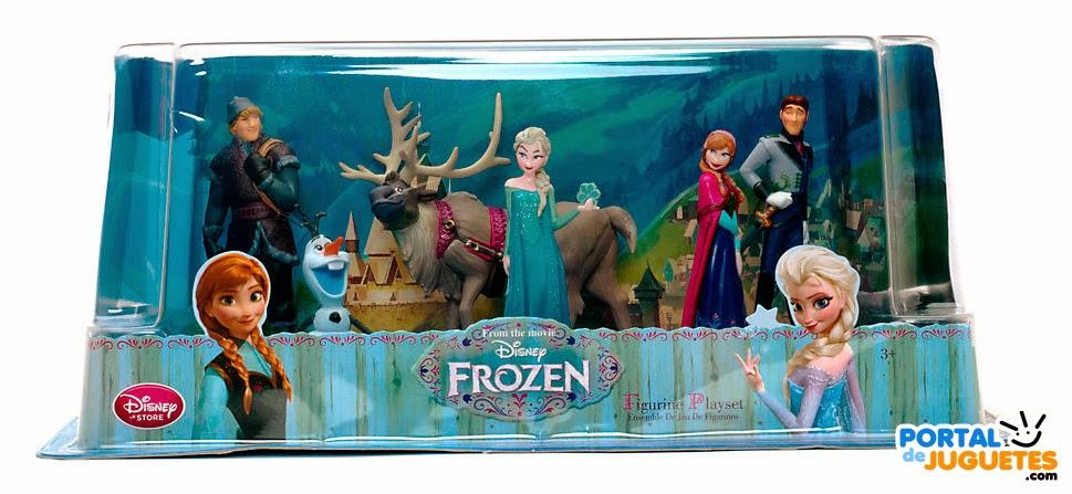 figuras frozen disney store nueva edicion caja