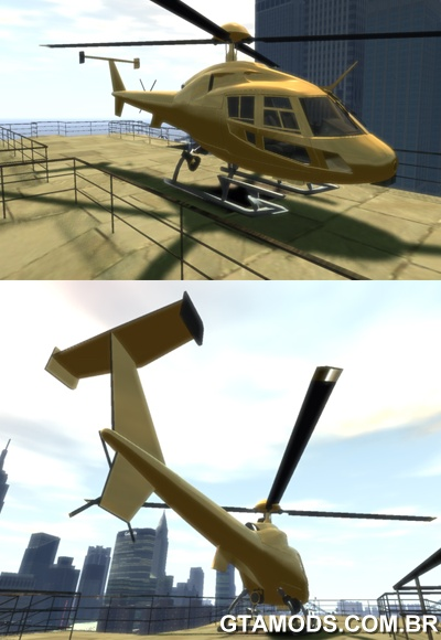 Helicopter From NFS Undercover