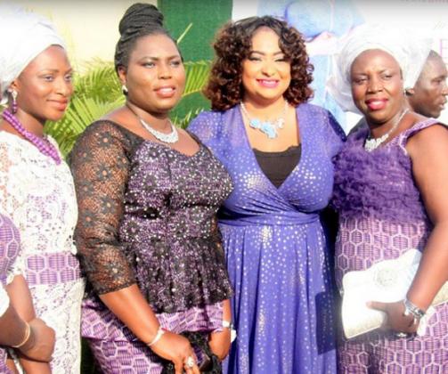 Photos From Ronke Oshodi Oke's Star Studded Album Launch