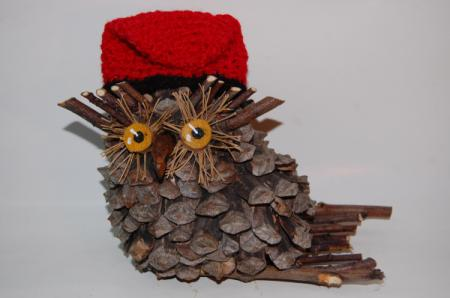 Hogar 10 decoraci n del hogar para navidad pi as secas for Decoracion con pinas secas