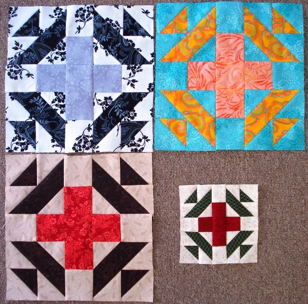 December Alternate Blocks for Second Saturday Sampler