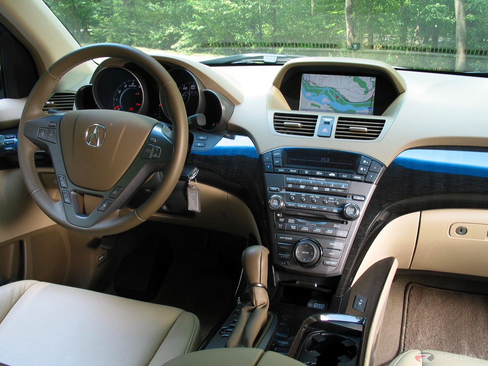 Best Acura MDX 2008 Interior