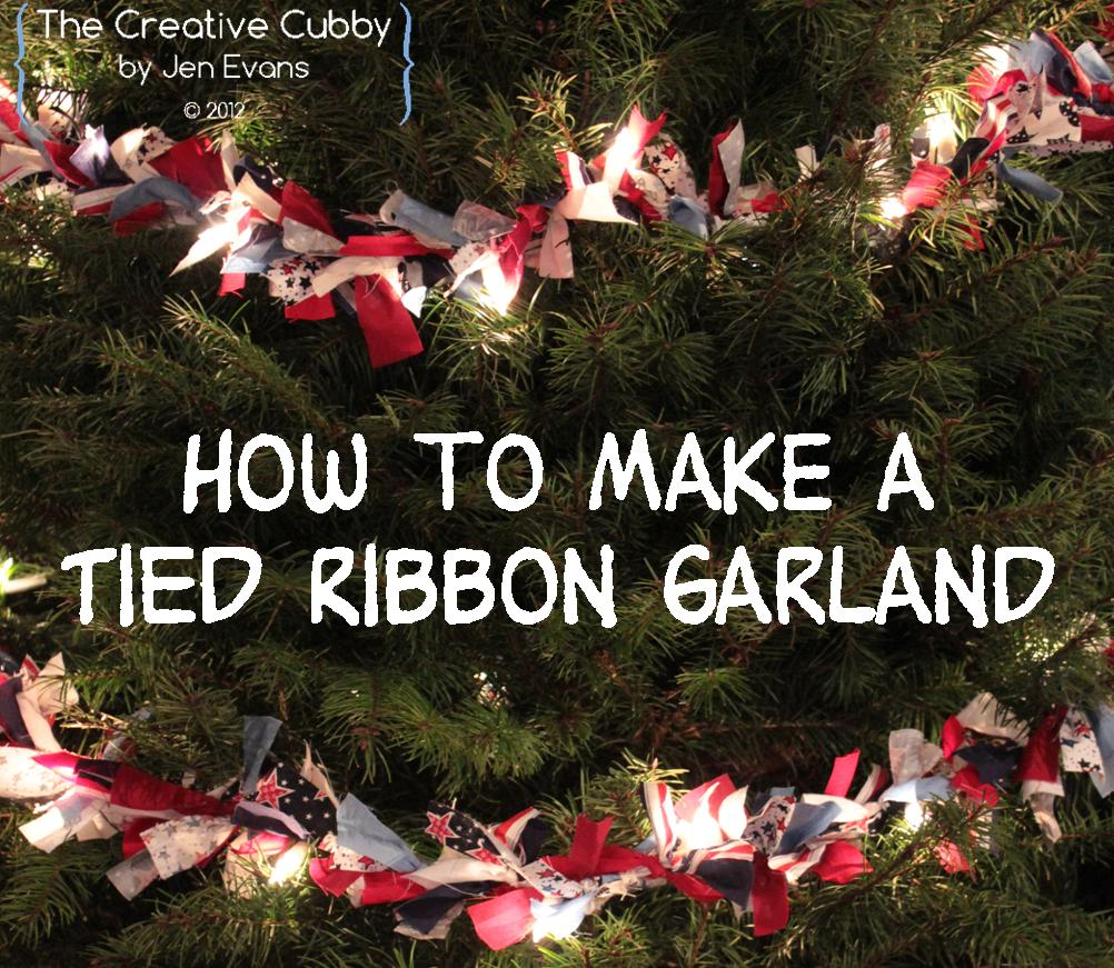 how to wrap ribbon around a christmas tree mobawallpaper