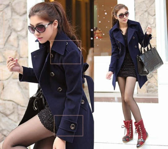 Blazer Princess Coat Navy