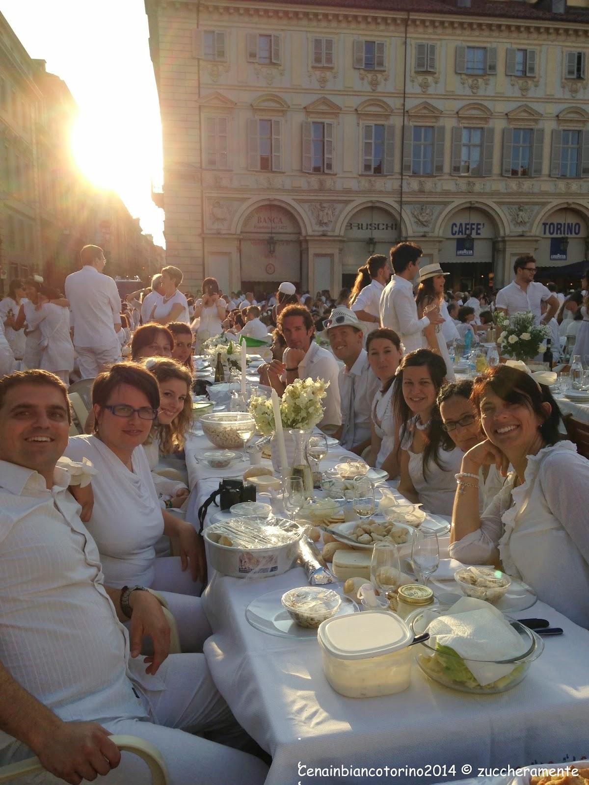cena in bianco 2014: 11.431 protagonisti di bianco vestiti