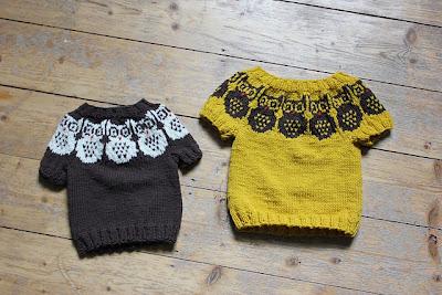 owl pattern baby sweater - lacypma