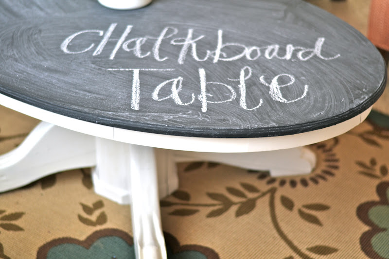 diy chalkboard coffee table paddington way
