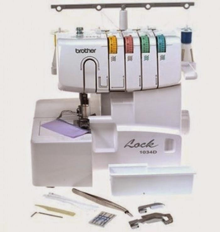Máquina para coser overlock - fileteadora - Minauri Sew - Craft ...