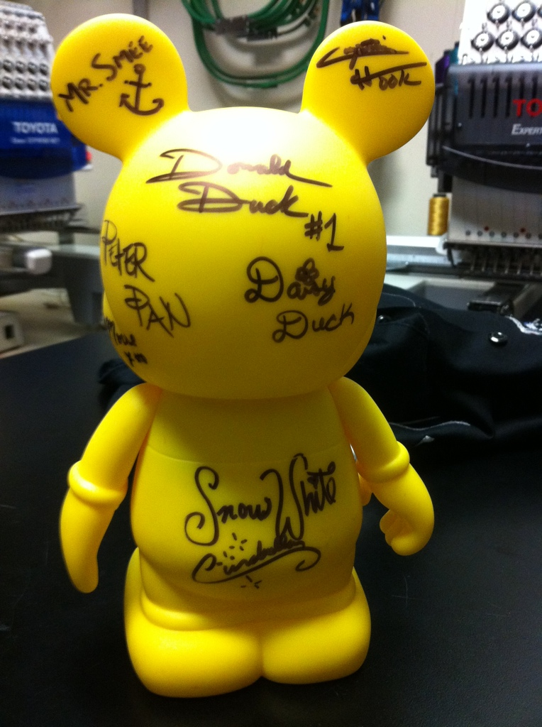 Disney Cruise 2012 Signed Vinylmation Idea