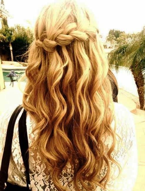 Mermaid waves Hairstyle