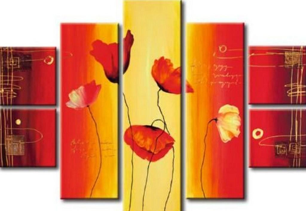 Cuadros pinturas oleos cuadros de arte abstracto moderno - Cuadros de pintura ...