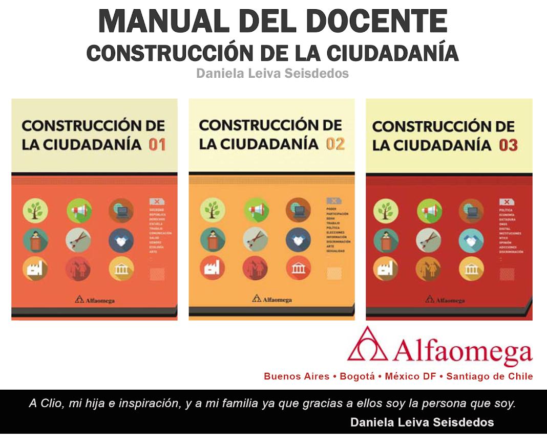 Manuales de Construcción de Ciudadanía para Docentes