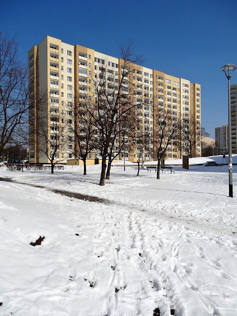 osiedle Ostrobramska marzec 2013