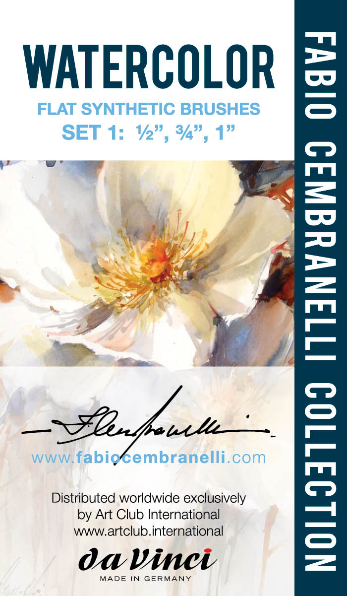 Como Comprar a Coleção de Pincéis de Fabio Cembranelli no BRASIL