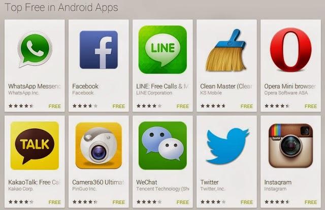 Aplikasi Android dan Game Terbaru Paling Populer November 2013