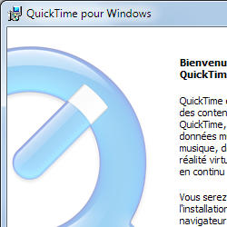 capture d'écran de QuickTime