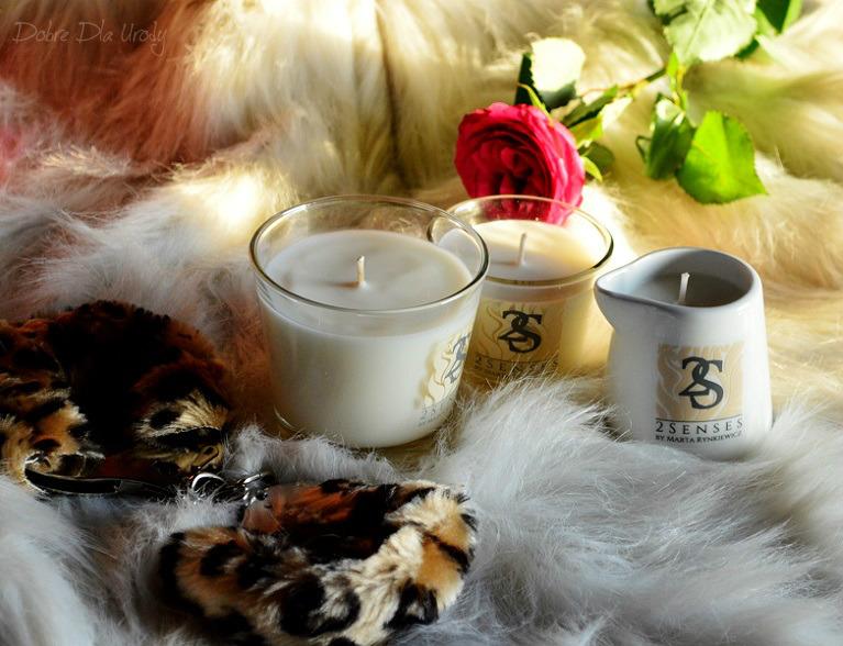 2 Senses Naturalne świece do masażu ciała