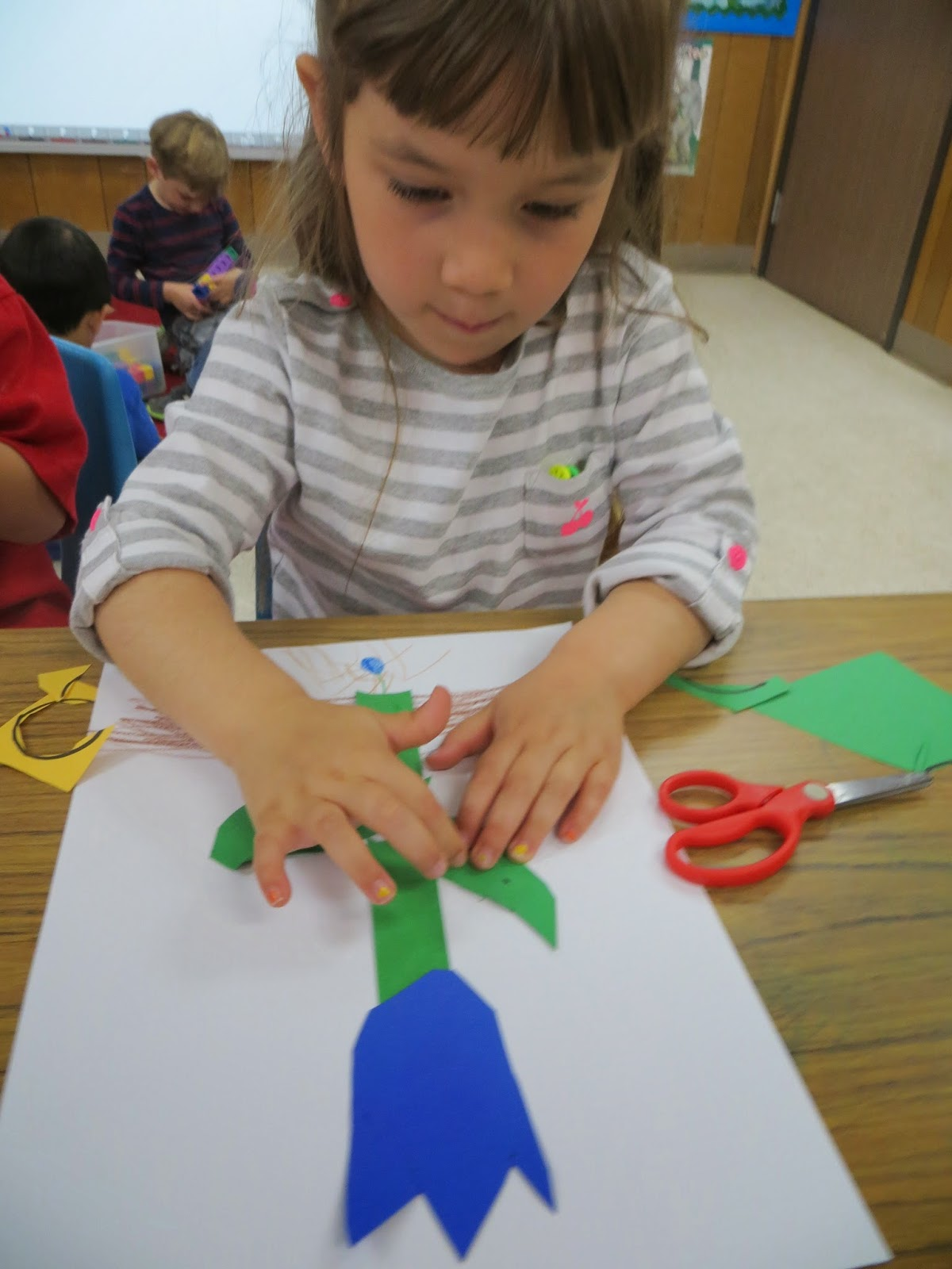 Parts of a flower- preschool or kinder craft