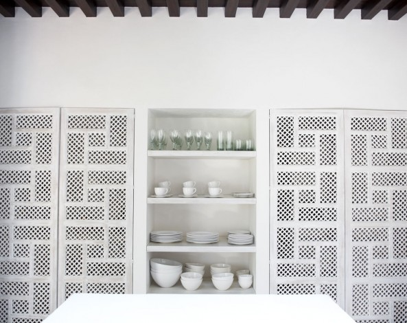 Lovely Cabinets photgraphed by Brie Williams. & Sybaritic Spaces: Create Fabulous Fretwork Doors