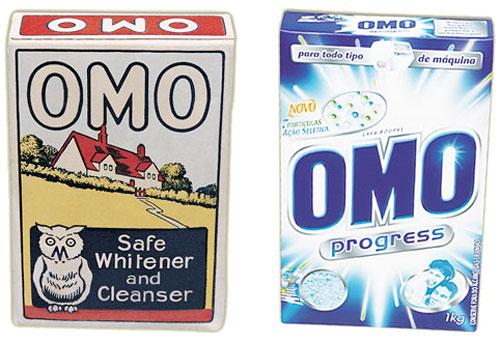 Curiosidades da marca OMO desde a sua concepção até os dias atuais.
