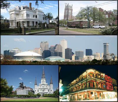 Attractions guides to New Orleans, Louisiana travel