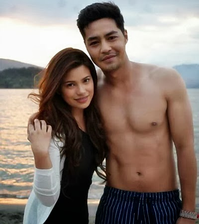 Denise Laurel and Zanjoe Marudo