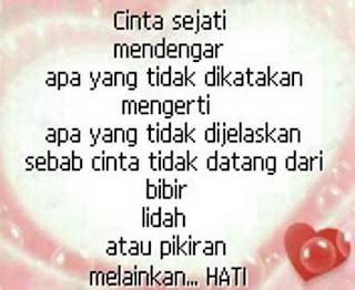 Kata-kata Cinta