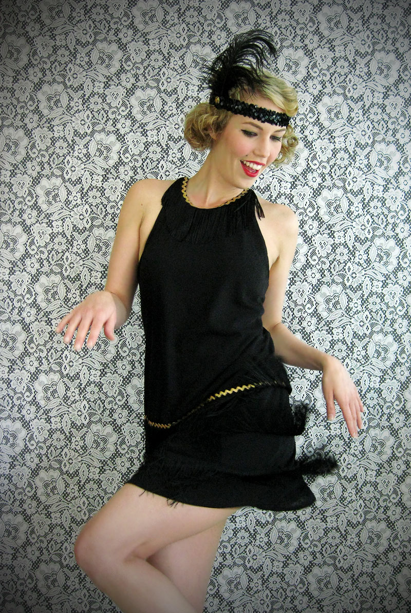 Wear The Canvas Diy Flapper Dress Costume