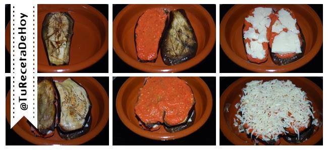 Hacer Berenjenas a la parmesana (Parmigiana di melanzane) paso a paso