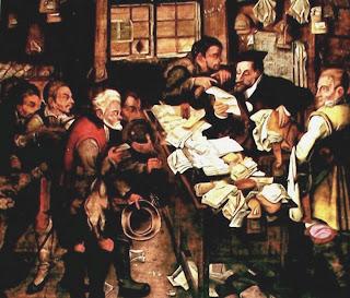 Banquero de ciudad - Pieter Bruegel